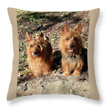 Jack And Lily 2 Throw Pillow