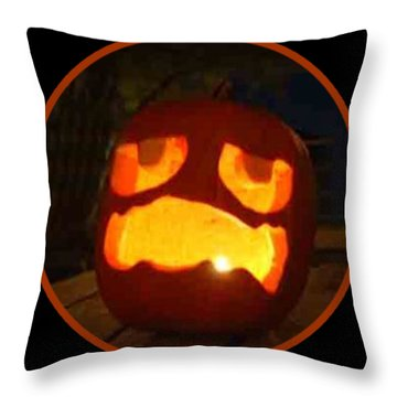Jack O Lantern 2018 Throw Pillow