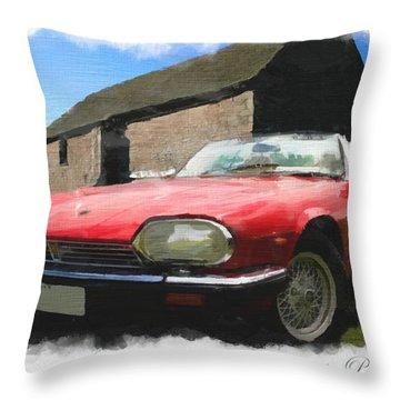 Jaguar Xjs - 1 Throw Pillow