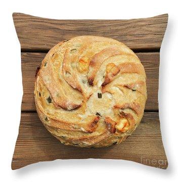 Jalapeno Cheddar Sourdough Throw Pillow