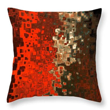 James 5 16. Praying For A Change Throw Pillow