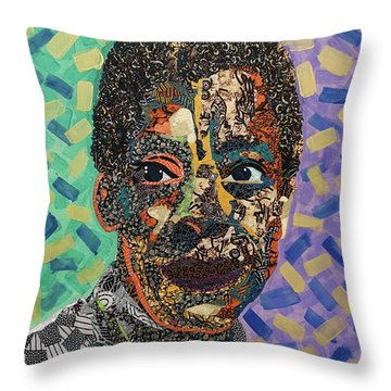 James Baldwin The Fire Next Time Throw Pillow