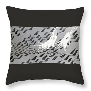 Japanese Modern Interior Art #117 Throw Pillow