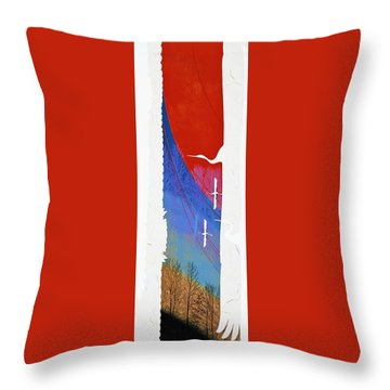 Japanese Modern Interior Art #119 Throw Pillow