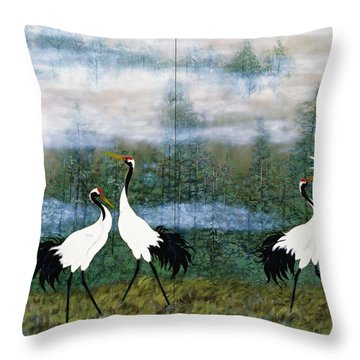 Japanese Modern Interior Art #120-part2 Throw Pillow