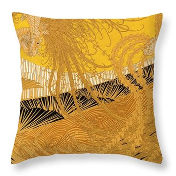 Japanese Modern Interior Art #140 Throw Pillow
