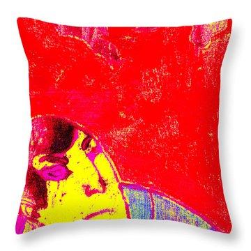 Japanese Pop Art Print 6 Throw Pillow