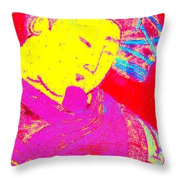 Japanese Pop Art Print 9 Throw Pillow