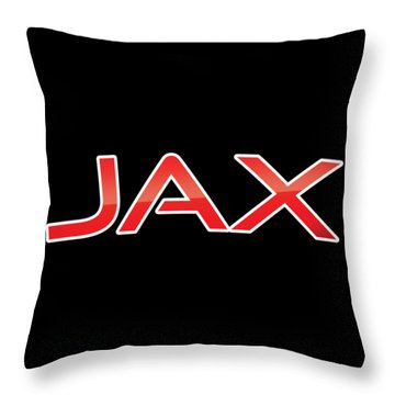 Throw Pillow featuring the digital art Jax by TintoDesigns