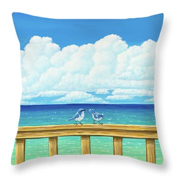 Jay Walkers Throw Pillow