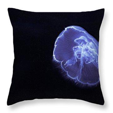 Jelly Glow Throw Pillow