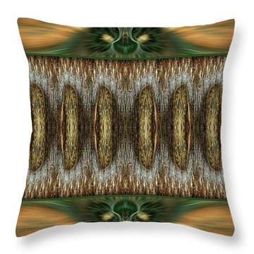 Throw Pillow featuring the digital art Jerusalem by Missy Gainer