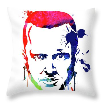 Jesse Watercolor Throw Pillow