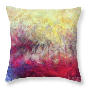 Jesus Christ, Rose Of Sharon. Song Of Solomon 2 1 Throw Pillow