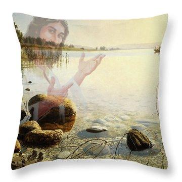 Jesus, Come Follow Me Throw Pillow