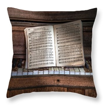 Jesus Lover Of My Soul Throw Pillow