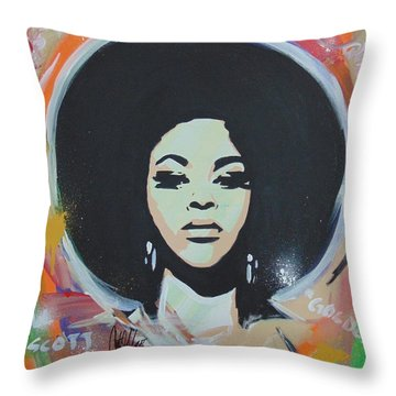 Jill So Beautiful Throw Pillow