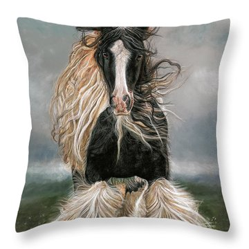 Jim Of The Eight Beatitudes Throw Pillow