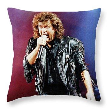 Jimmy Barnes 1988 Throw Pillow