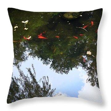 Jing An Park II Throw Pillow