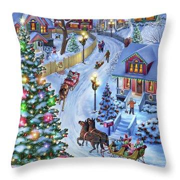 Jingle All The Way Throw Pillow