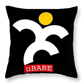 Jive Babe Throw Pillow