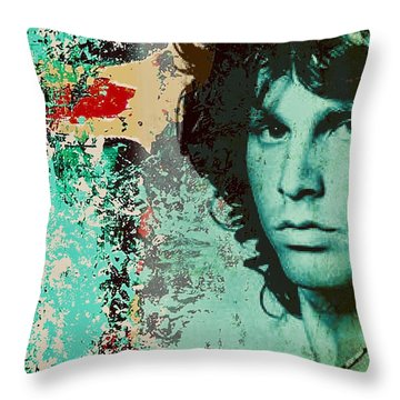 JM Throw Pillow