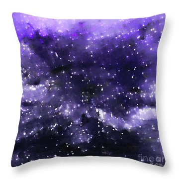 John 1 5. Overcome Throw Pillow