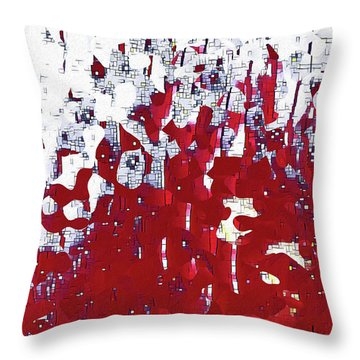 Throw Pillow featuring the painting John 14 2. Preparing A Place For You by Mark Lawrence