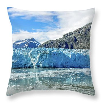 John Hopkins Glacier 1 Throw Pillow
