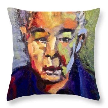 John Prine Throw Pillow