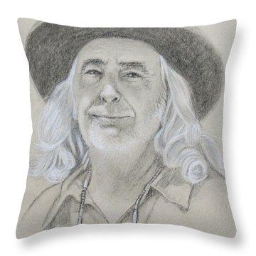 John West Throw Pillow