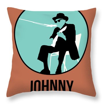 Johnny Lee Hooker  Throw Pillow