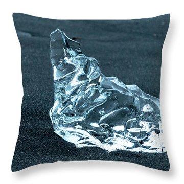 Jokulsarlon Diamond Throw Pillow