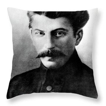 Joseph Stalin In 1917 Throw Pillow
