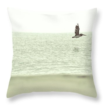 Journey At Daybreak Throw Pillow