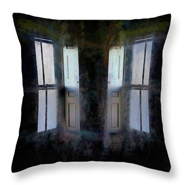 Throw Pillow featuring the photograph Journey To Oz by Wayne King