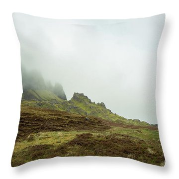Journey To The Quiraing Throw Pillow