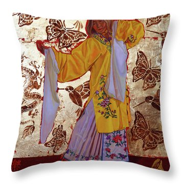 Joyful Love Throw Pillow