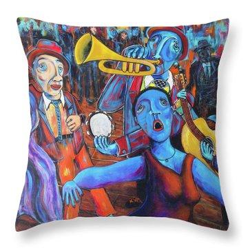 Juke Joint Throw Pillow