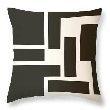 Julije Knifer Tribute Throw Pillow