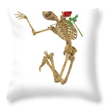 Jump For Joy Throw Pillow