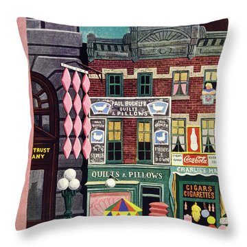 New Yorker June 1st 1946 Throw Pillow