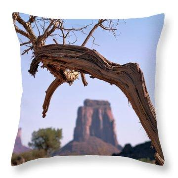Juniper Tree Throw Pillow