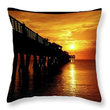 Juno Pier 3 Throw Pillow