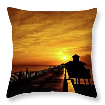 Juno Pier 4 Throw Pillow