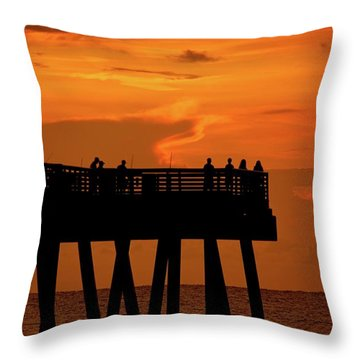 Juno Pier 5 Throw Pillow
