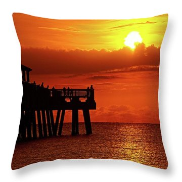 Juno Pier 6 Throw Pillow