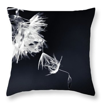 Throw Pillow featuring the photograph Just Breath by Michelle Wermuth