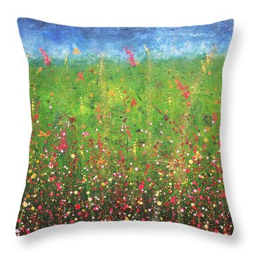 Just Wandering Throw Pillow